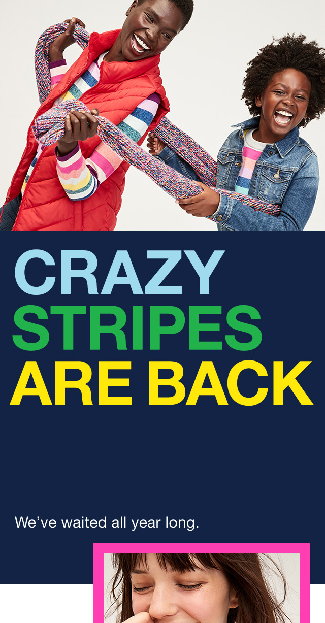 Crazy Stripes Are Back